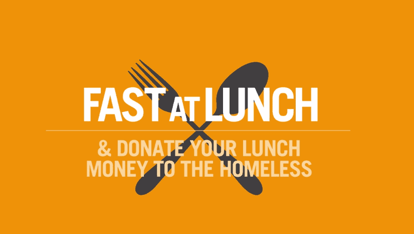 This Thanksgiving, Donate Your Lunch Money To The Homeless