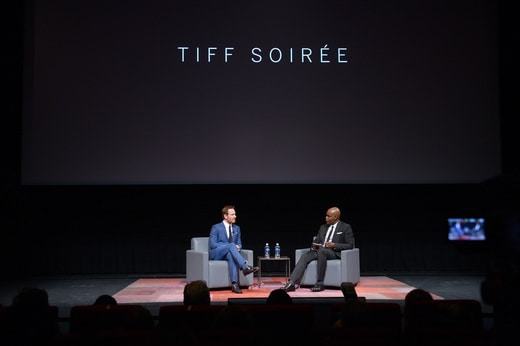 PHOTOS: In Conversation with Michael Fassbender at TIFF Soiree