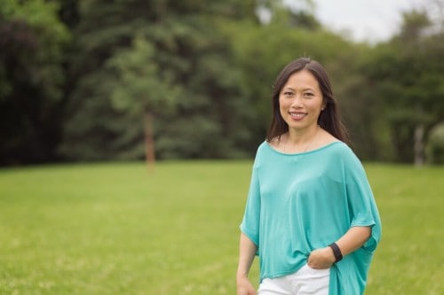 Author Mary Wong