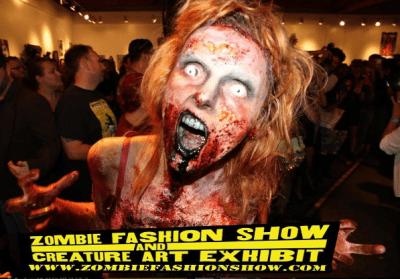 Pancakes & Booze Art Show: Zombie Fashion Show Edition