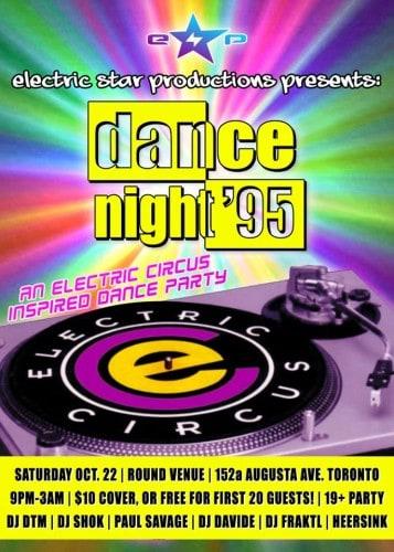 Toronto Hit List: Vintage Crawl, Rebel Hop, Dance Night '95, Saddle Up & more!