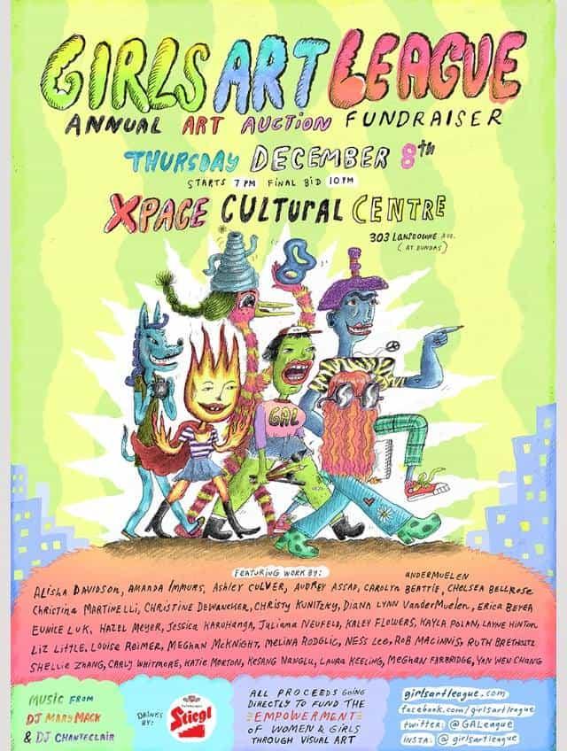 Girls Art League's Annual Art Auction Fundraiser