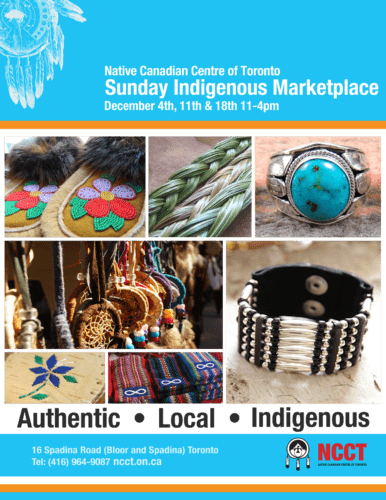 Sunday Indigenous Marketplace: Coming This December