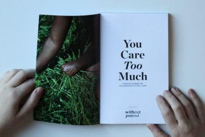 You Care Too Much: Female Creators Explore Self-Care in New Book