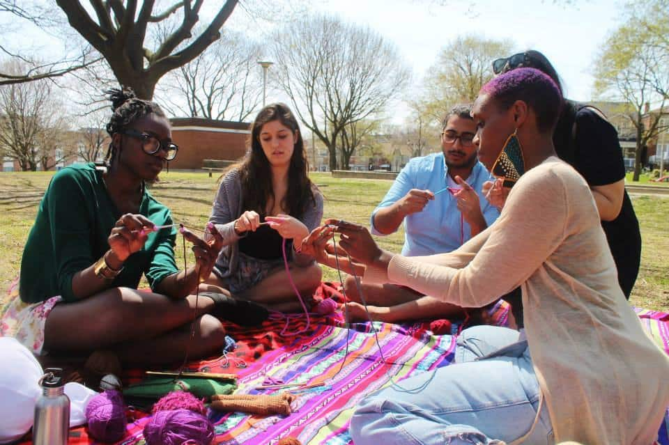 How Chason & Tumaini Crochet Acts of Kindness