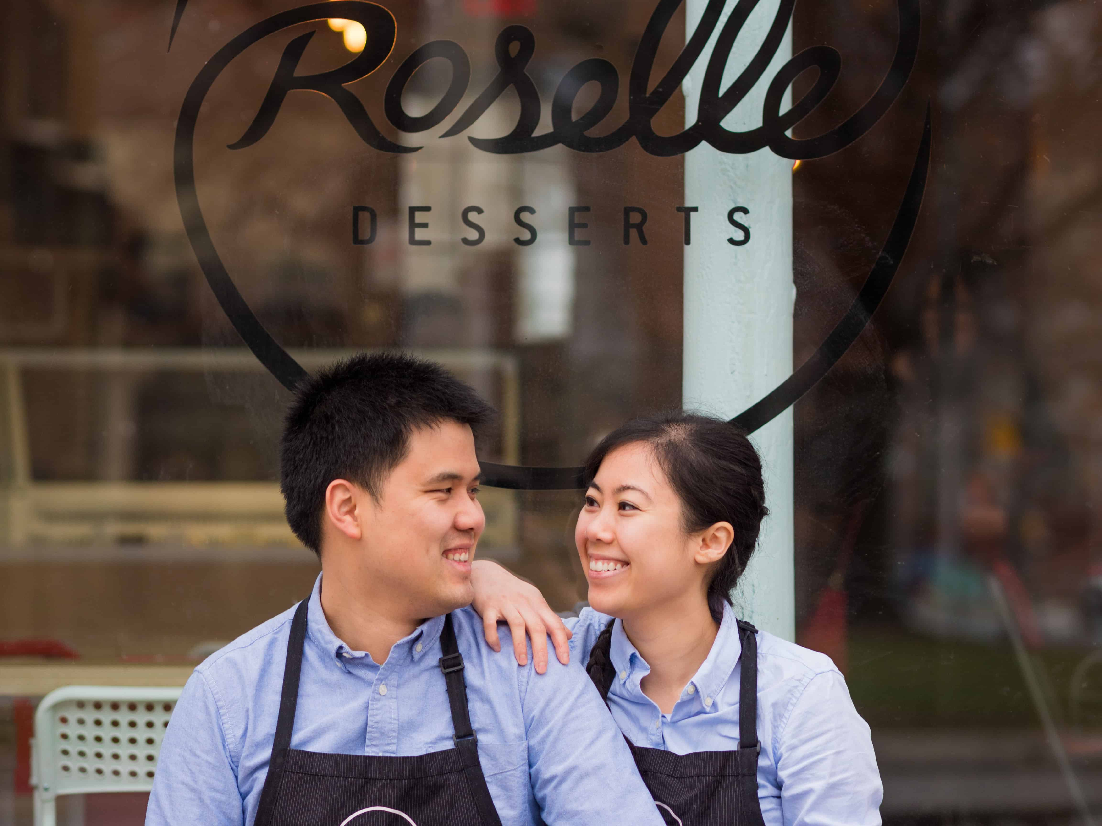 Foodie Pages Holiday Pop Up: Roselle Desserts