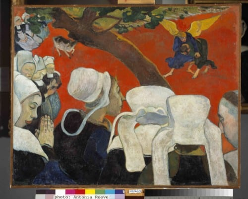 gauguin-paul_vision-of-the-sermon_jacob-wrestling-with-the-angel_1888_national-gallery-of-scotland