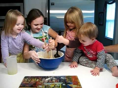 The Kids Making Christmas Cookies Youtube - Best Christmas Moment