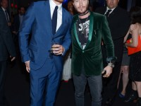 TIFF Soiree, Michael Fassbender and Adam Moryto, credit WireImage Getty for TIFF