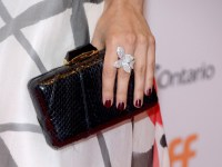 TIFF Soiree, actress Alix Angelis, fashion detail, credit WireImage Getty for TIFF