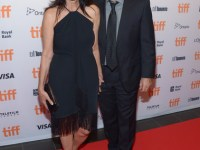 TIFF Soiree, actress Shohreh Aghdashloo and actor Houshang Touzie, credit WireImage Getty for TIFF