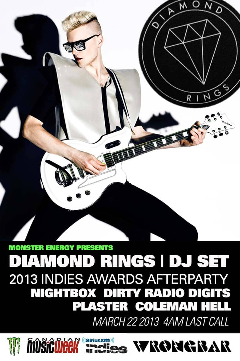 Indies After Party with Diamond Rings