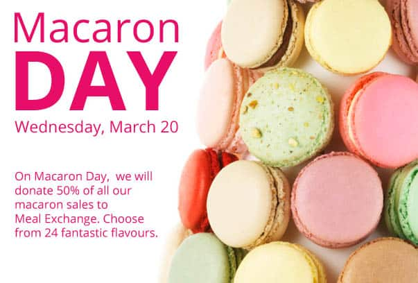 Macaron Day at Nadege on March 20