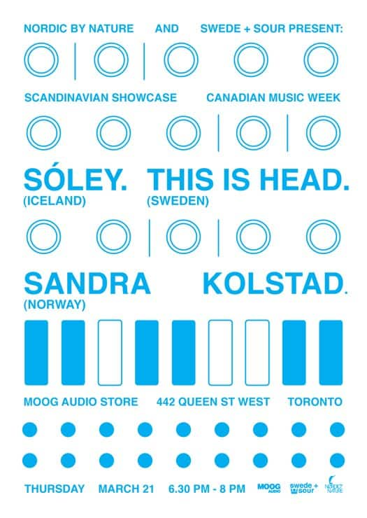 Soley, This is Head, Sandra Kolstad at Toronto's Mood Audio for CMW