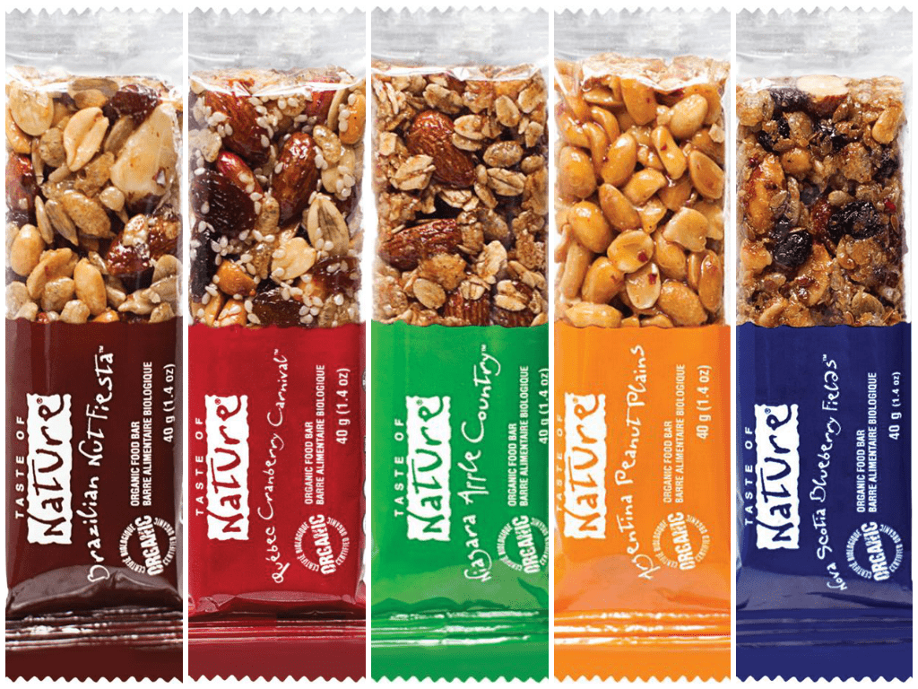 healthy snack bars take the pledge to snack healthy with taste of nature food 28477