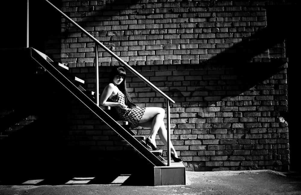 Staircase sex